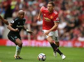 Ex-adjunto 'blue' ficou estupefacto com a saída de Matic para o Man. United. AFP
