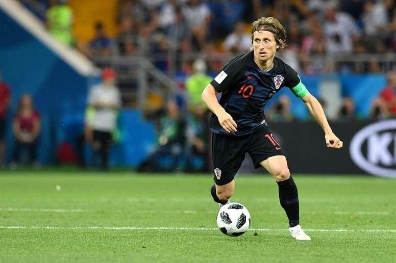 El futbolista croata dejó caer que Kalinic debe volver. AFP