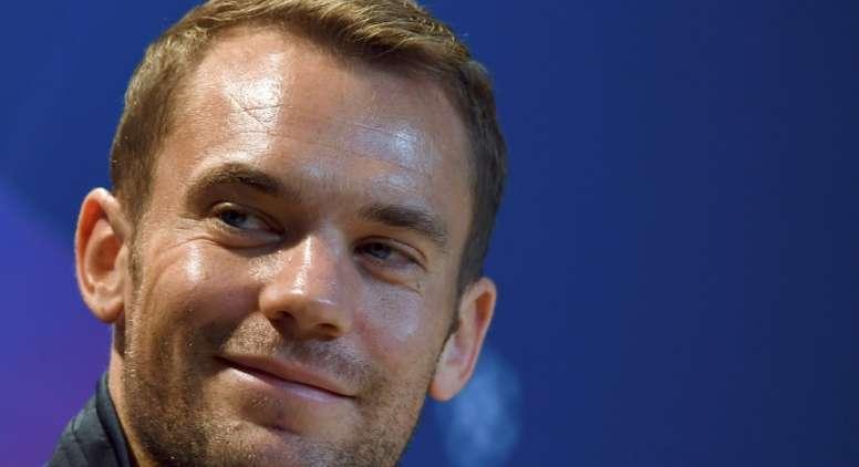 Hay un debate abierto entre Neuer y Ter Stegen en la portería de Alemania. AFP