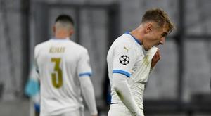 Marseille broke a record after losing 0-2 to Porto. AFP