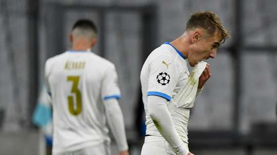 Marseille broke a record after losing 0-2 to Porto. AFP