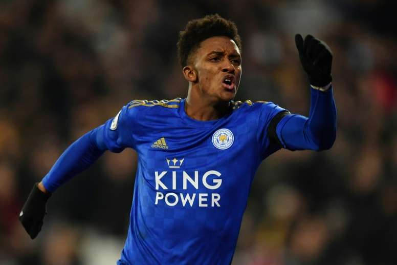Demarai Gray could well leave Leicester. AFP