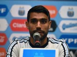 Augusto quitte l'Espagne. AFP