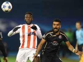 Arthur Masuaku ya es jugador del West Ham. AFP