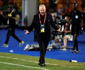 Aguirre wants his Egypt side to play better than they did in their opener. AFP
