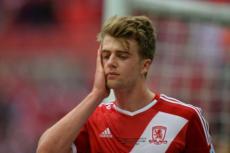 Bamford had a loan spell with Middlesbrough in the 2014-15 season. AFP