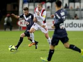 Mathieu Bodmer a résilié son contrat avec Nice. AFP