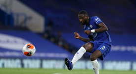 Rudiger still has not played a single minute. AFP