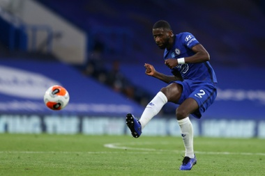 The Chelsea centre-back is free to leave. AFP