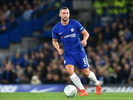 Danny Drinkwater is unlikley to have a main role in the Che;sea team this season. AFP