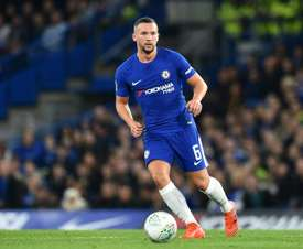 Drinkwater has had limited game time at Chelsea. AFP
