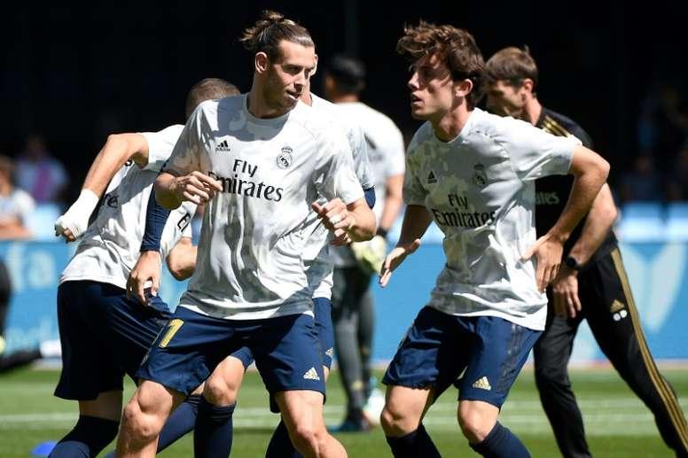 Gareth Bale cuajó un partido bastante interesante en Vigo. AFP