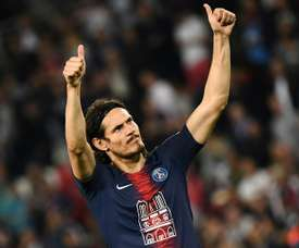 Italians remind Barcelona Cavani is a free agent . AFP