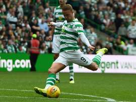 Griffiths has been ruled out of the Betfred cup semi-final with Hearts. AFP
