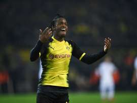 Batshuayi scored twice as Dortmund beat Atalanta. AFP