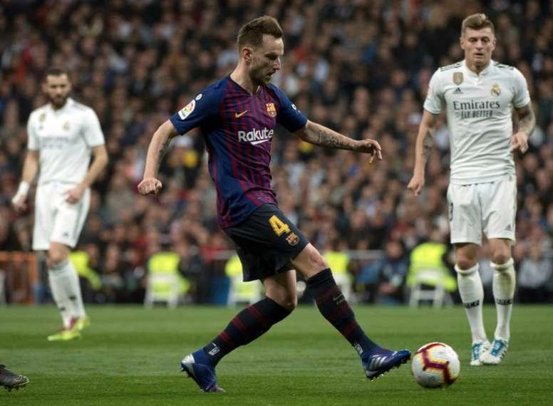 Valverde ne rajoute rien aux propos de son milieu croate. AFP