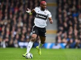 Ryan Babel quittera Fulham cet été. AFP