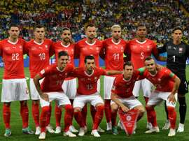 Last time out Switzerland defeated Serbia 1-2. AFP