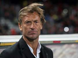 Herve Renard has won two Africa Cup of Nations trophies previously, in 2012 and 2015. AFP