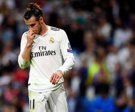 Bale est touché. AFP