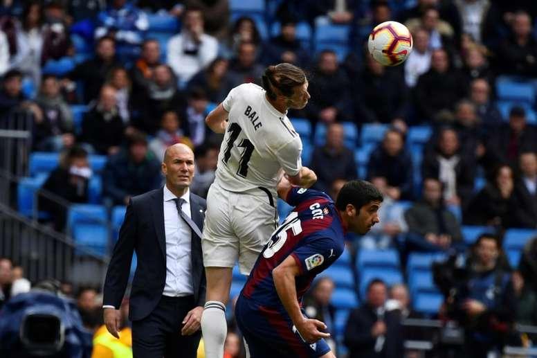 Le groupe du Real Madrid pour affronter le Betis en Liga. AFP