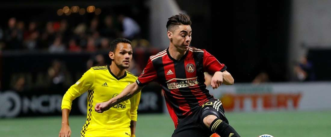 Almiron has attracted interest from a lot of teams in Europe. AFP
