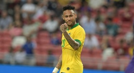 Neymar has earned 100 caps for Brazil at just 27. AFP