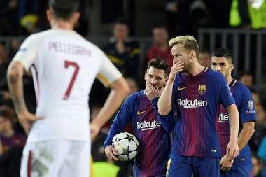 Le Barça est menacé par le PSG. AFP