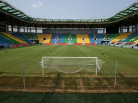 The Port-Gentils stadium ahead of the 2017 Africa Cup of Nations tournament in Gabon. AFP