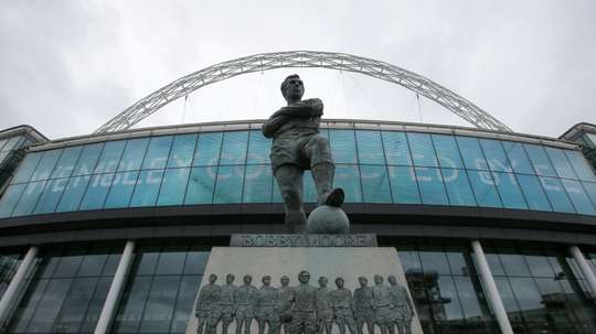 Wembley will play host. AFP