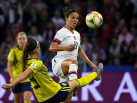 Carli Lloyd is aiming for another World Cup win. AFP