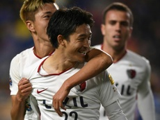 Kashima edged out their opponents to reach the final of the Asia Cup. AFP