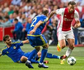 El Ajax ha vencido sin demasiado esfuerzo al Panathinaikos. AFP/Archivo