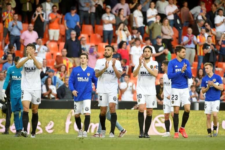 El Valencia consiguió el premio a base de esfuerzo. AFP