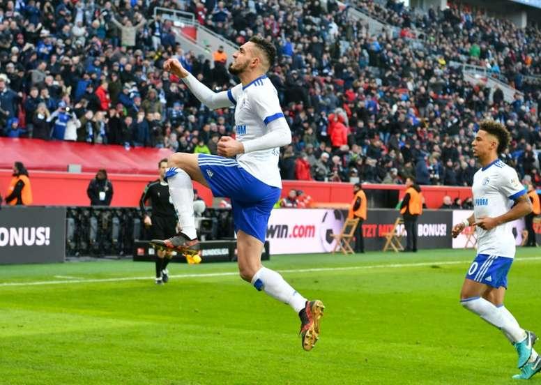 Bentaleb pourrait troquer la Bundesliga pour la Ligue 1. AFP