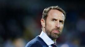 Southgate y las dudas sobre la Eurocopa. AFP