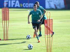 Draxler and teammate Uth are out of the Germany squad for this month's matches. AFP