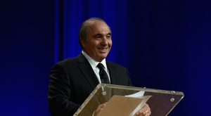 Rocco Commisso told reporters  he hoped to help put the club and the NASL on a firm footing. AFP