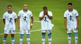 Argentina's Primera Division returns without Maradona. AFP