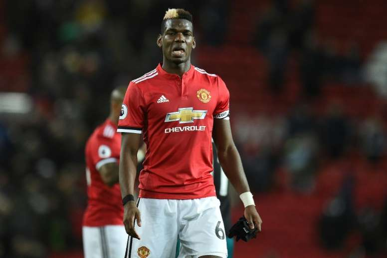 Pogba guided his team to victory. AFP