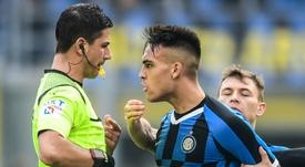 Martinez sees red as Nainggolan frustrates Inter Milan. AFP