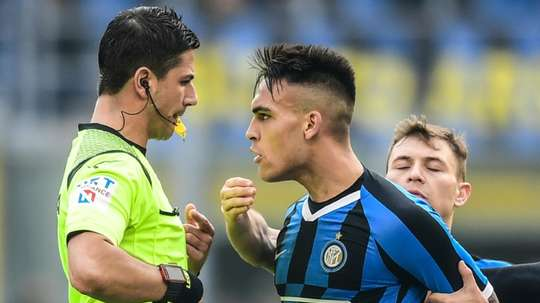 Lautaro criticized for his performance in Coppa Italia ahead of expected Barca move. AFP