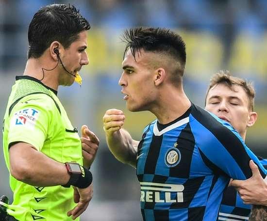 Lautaro non andrà al Barcellona. AFP