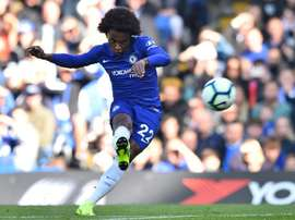 Willian is expected to start for Chelsea. AFP