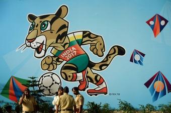 El Mundial Sub 17 se celebra estos días en la India. AFP