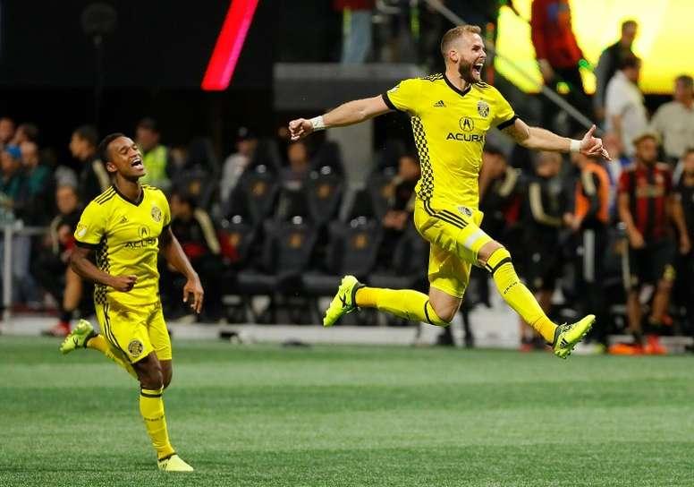 El Columbus Crew se coloca líder de la Conferencia Este en la MLS. AFP