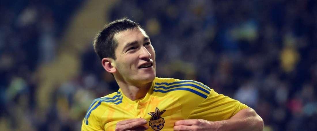 Stepanenko podría salir del Shakhtar Donetsk en enero. AFP