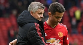 Herrera is confident that Solskjaer can lead United back to glory. AFP