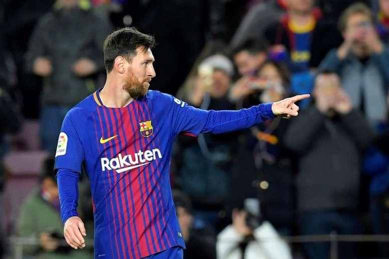 Messi tem o seu próprio Top 10 de melhores jogadores mundiais. Twitter