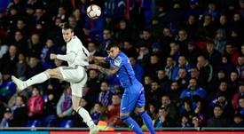Gareth Bale no encuentra equipo y quiere seguir en el Real Madrid. AFP